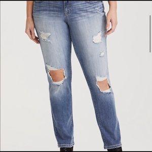 🔥Torrid Boyfriend skinny denim jeans - NWT 26